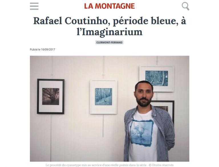 Expo sous bois ferriques article La Montagne