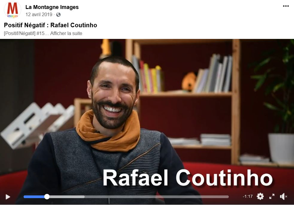 "photo Interview ""Positif Négatif"" Rafael Coutinho"