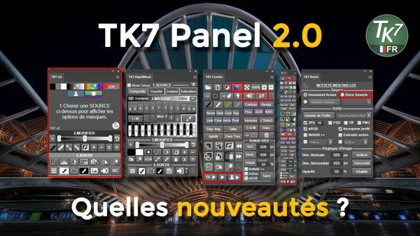 vignette nouveautés TK7 panel 2.0